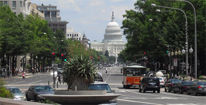 A View of the U.S. Capitol from Tour Stop #7