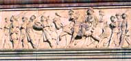 Closeup of Frieze