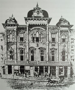Odd Fellows Hall, c. 1885
