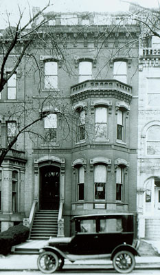 Ingersoll's 2nd D.C. Home, c. 1920